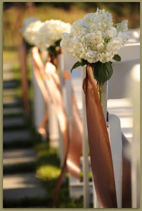 Ceremony Decor love for down the aisle