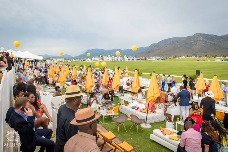 The After Party at Val de Vie at the Veuve Clicquot Masters Polo. Shimmy ended off the evening with a splash!