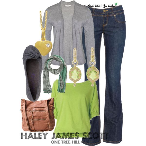 Inspired by One Tree Hill character Haley James Scott played by Bethany Joy Lenz from 2003-2012.