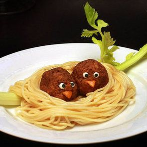 Will someone fix my next plate of spaghetti like this???
