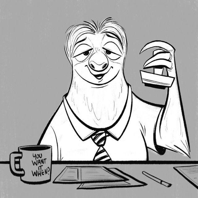Day 1 of #inktober2017 - #swift I'm thinking of using #inktober to practice doing quick inks in Photoshop…I've never done this before, will people hate me for doing them digitally? Here we go!!!#flash #zootopia #dmv #slowmo #slow #animation #ink #digitalart #photoshop #digital #art #artistoninstagram #illustrate #disney #disneyanimation #disneycharacter #waltdisney #judyhopps #nickwilde