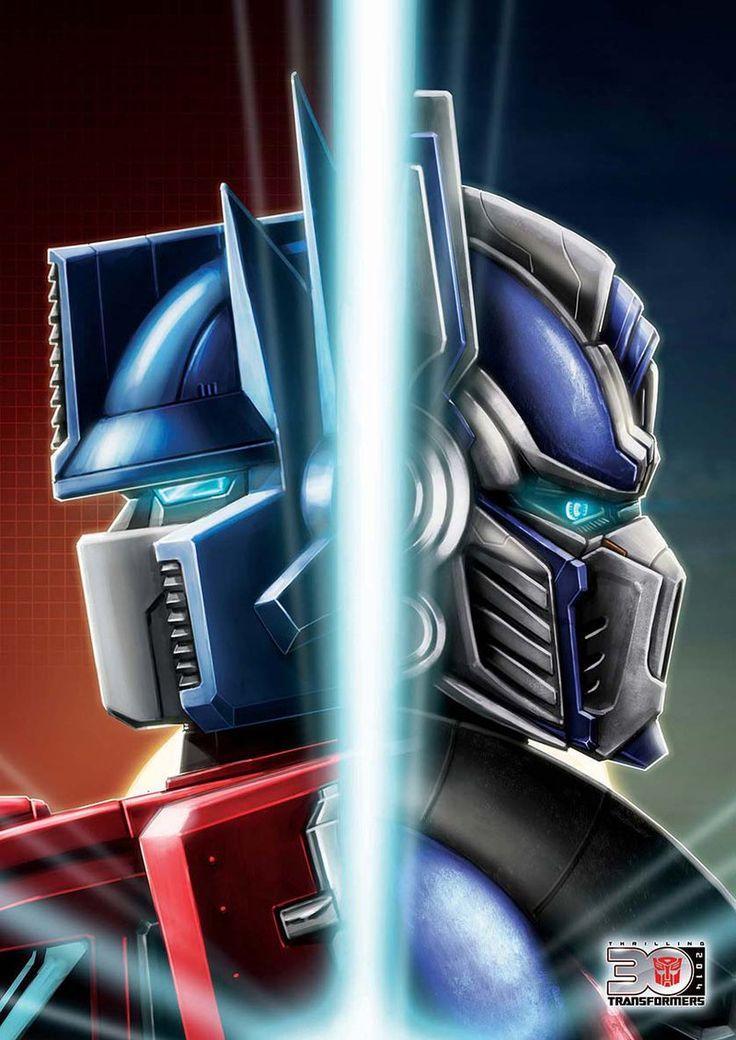 Transformers G1 and Movie Optimus Prime