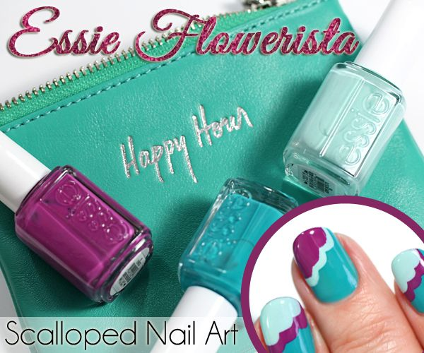 Celebrate the season with this Essie Spring 2015 nail art design. This easy nail art requires no special tools.