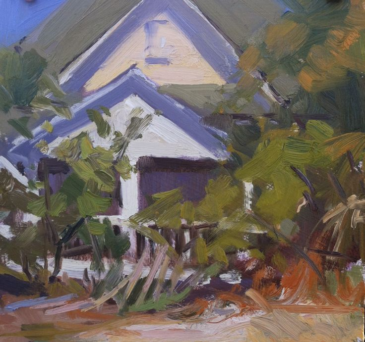 """Vacant"" 8"" x 8"" Available, Abandoned beach house, Indian Pass in Florida's Forgotten Coast"
