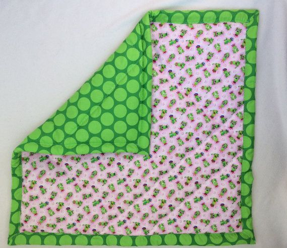 special OFFER  Baby Blanket FROG PRINCE  baby by MaHEROsydney