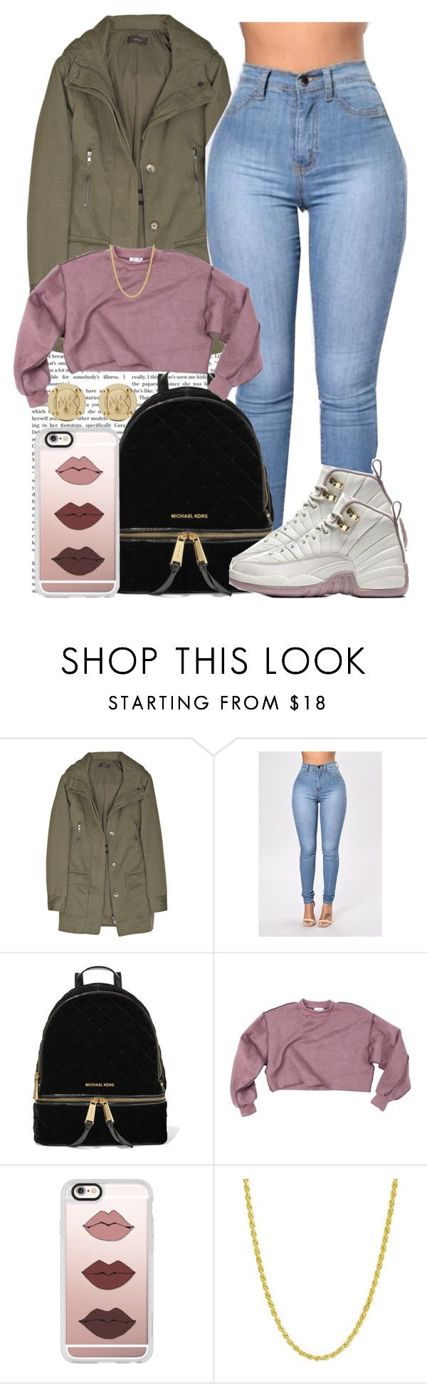 """Dusty Pink"" by goddessnaii ❤ liked on Polyvore featuring Joseph, MICHAEL Michael Kors, Casetify, Pori and Michael Kors"
