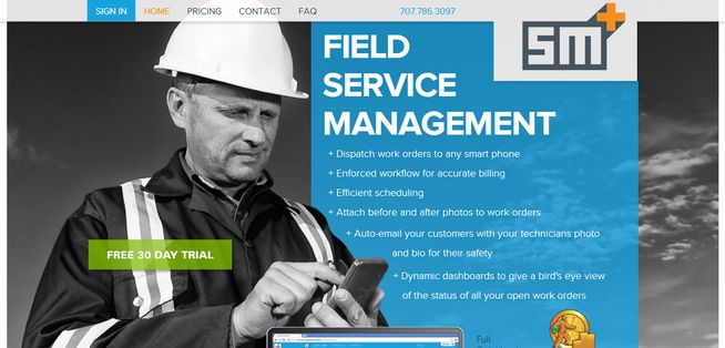 Service Manager Plus aims to empower field service businesses to manage work orders efficiently.