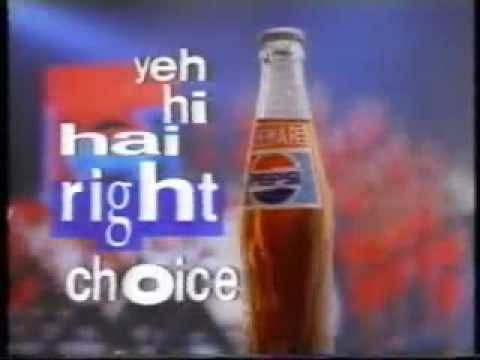 Yahi Hai Right Choice Baby Lehar Pepsi Remo Old TVC