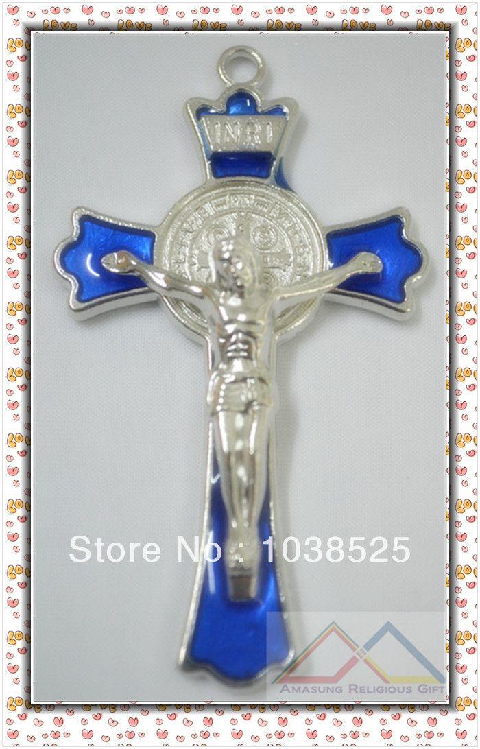 Санкт святой бенедикт экзорцизм защита распятие крест медаль