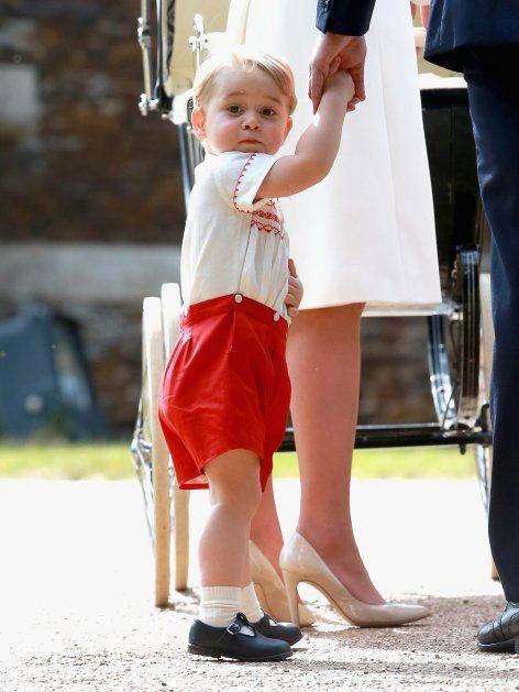 Prinz Georges Outfit war eine Hommage an seinen Papa William.