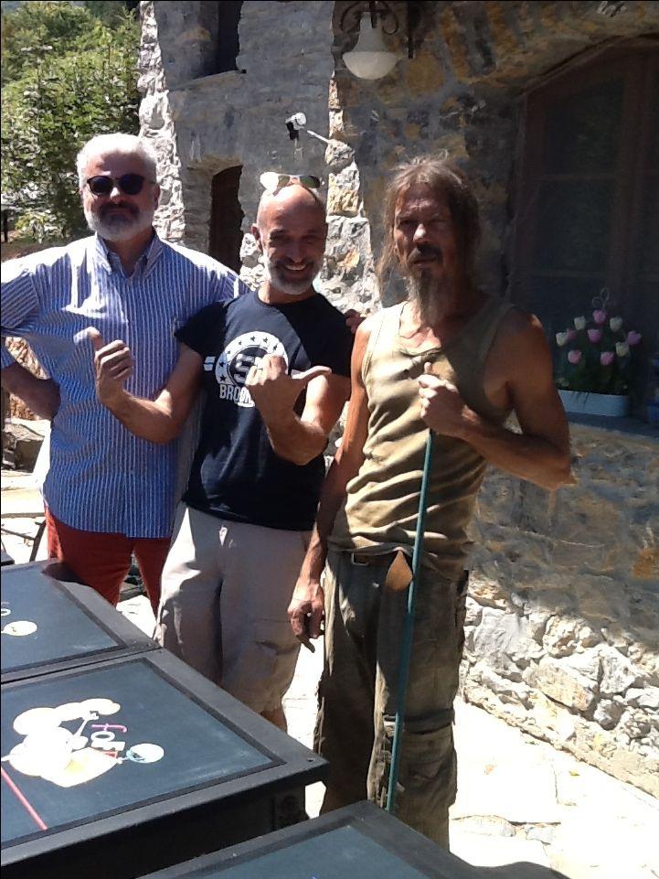 Simone Lucchesi, Mauro Manco e Nicola Perucca     A Casté