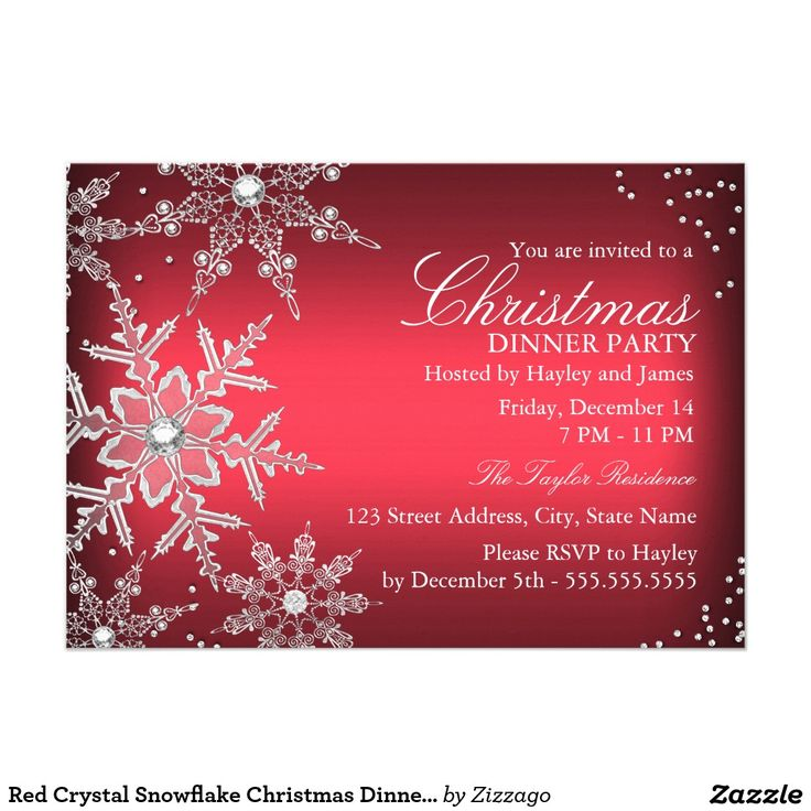 The 25+ best Christmas dinner invitation ideas on Pinterest ...