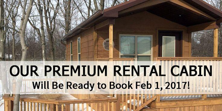 Premium Rental Cabin Campers Cove Campground Wheatley Ontario - Lake Erie, Discover Ontario, Ontario Southwest, Camp in Ontario