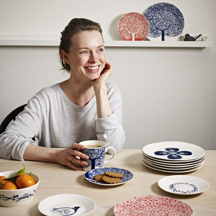 London-based illustrator Karolin Schnoor is the latest designer to collaborate with Royal Doulton.