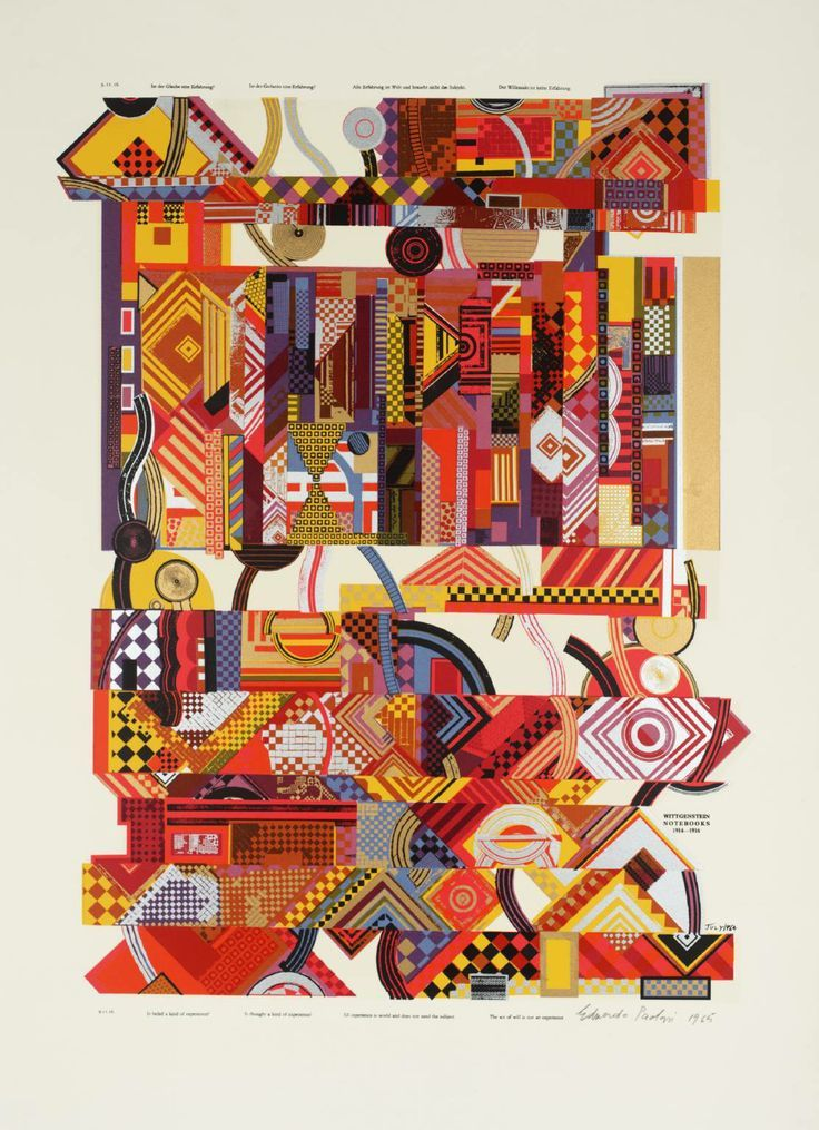 Eduardo Paolozzi, Experience from As Is When, 1964