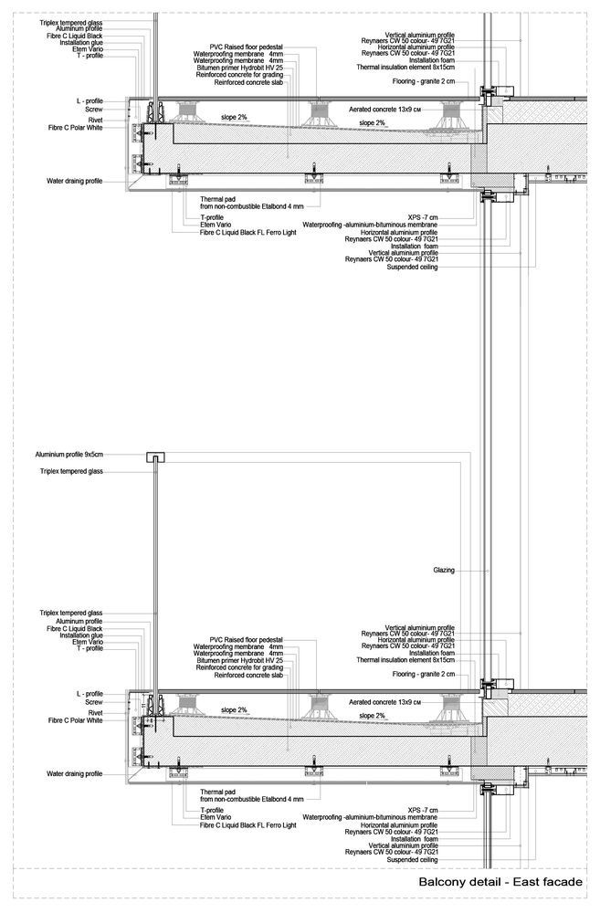 Gallery Of A3 Advanced Architecture Apartments Starh 16 In 2020 Apartment Architecture Facade Architecture Architectural Section