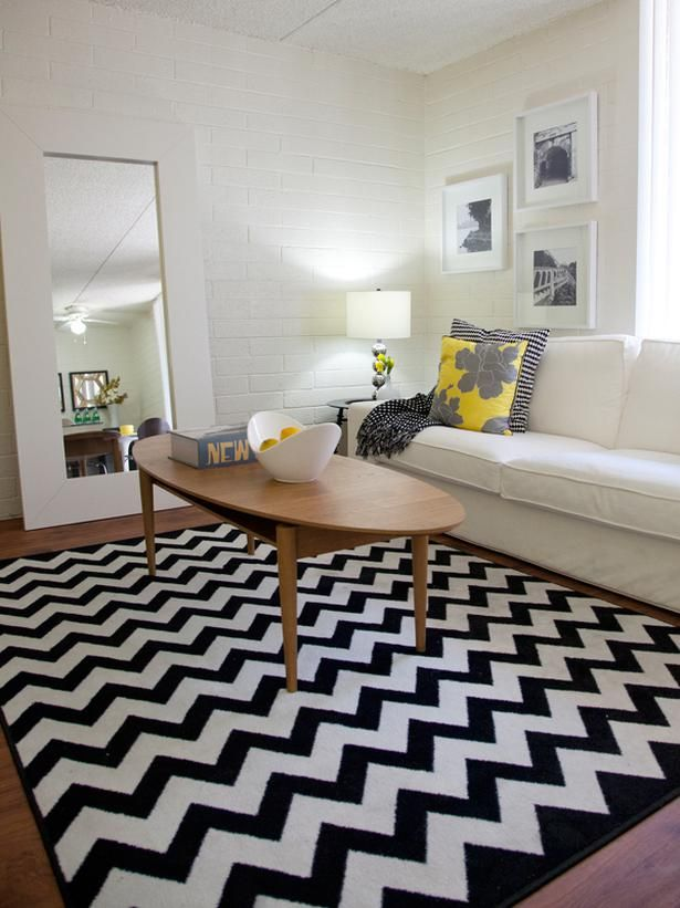design portfolio chevron living rooms retro living rooms living room