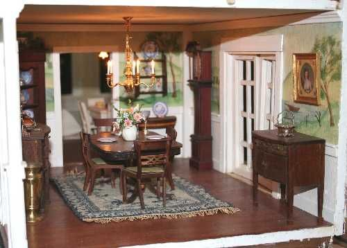 My Collection · Dollhouse InteriorsDollhouse FurnitureDollhouse  MiniaturesMiniature KitchenMiniature RoomsDollhousesNeedlepointScaleDining  Rooms