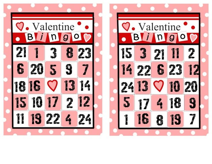 Best 25 Valentine bingo ideas – Valentines Bingo Cards