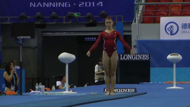Gymnastics and More!: Madison Desch - VT - 2014 World Championships - Po...