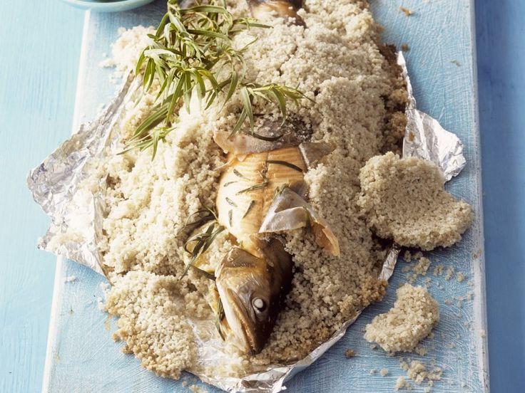 Rezept: Forelle in Salzkruste