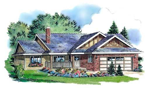 Country style house plans 1096 square foot home 1 for Monster house plans ranch