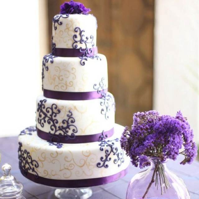 15 best Purple and gold images on Pinterest | Violets, Wedding ...
