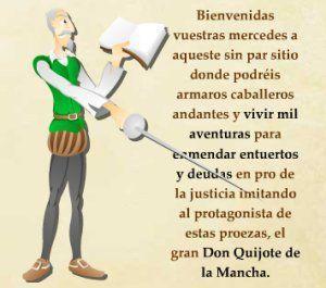 BECREA CEIP ISBILYA: Leemos El Quijote  y  Audiocuentos