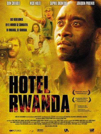 Hotel Rwanda (2004) Gran Bretaña. Dir: Terry George. Drama. Bélico. Cine social. Racismo. Baseado en feitos reais. Guerra de Ruanda - DVD CINE 1426