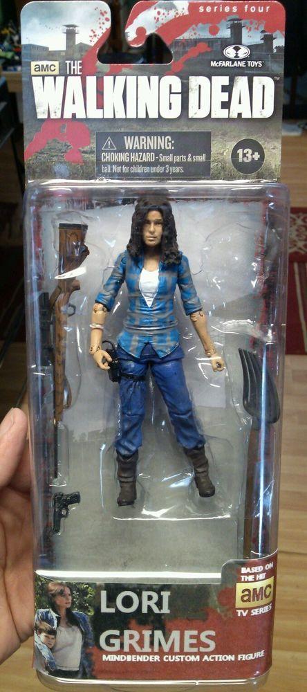 Custom Walking Dead Season 2 Lori Grimes Figure Mcfarlane