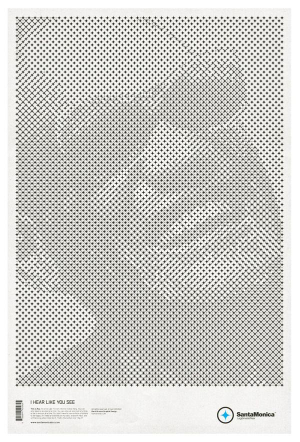 Ray CharlesPrint Design, Prints Design, Stars Grid, Posters Art, Santamonica, Minimalist Poster, Grid Posters, Creative Juice, Creative Inspiration