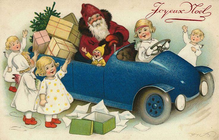 Joy - всё то, что я люблю!: Коллекция Рождественских винтажных открыток