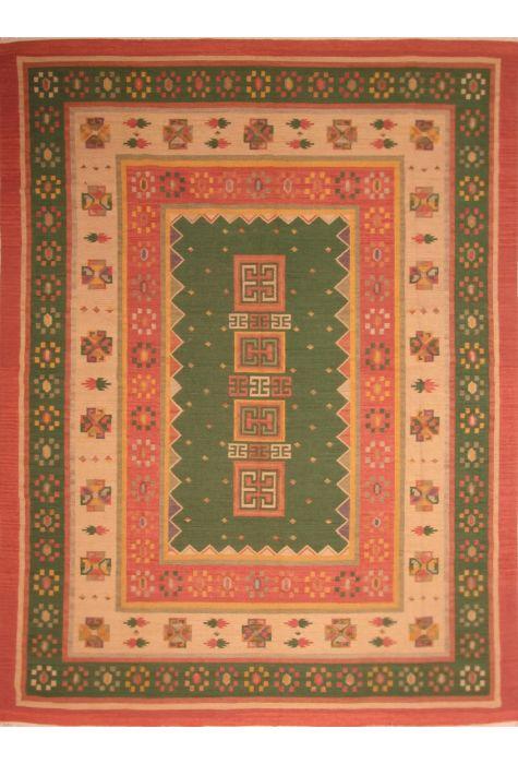 Kilim Indian rug. Wool. Flat Woven. 305 x 422 http://www.rugman.com/indian-kilim-design-oriental-area-rug-palace-size-wool-golderod-rectangle-253-21999
