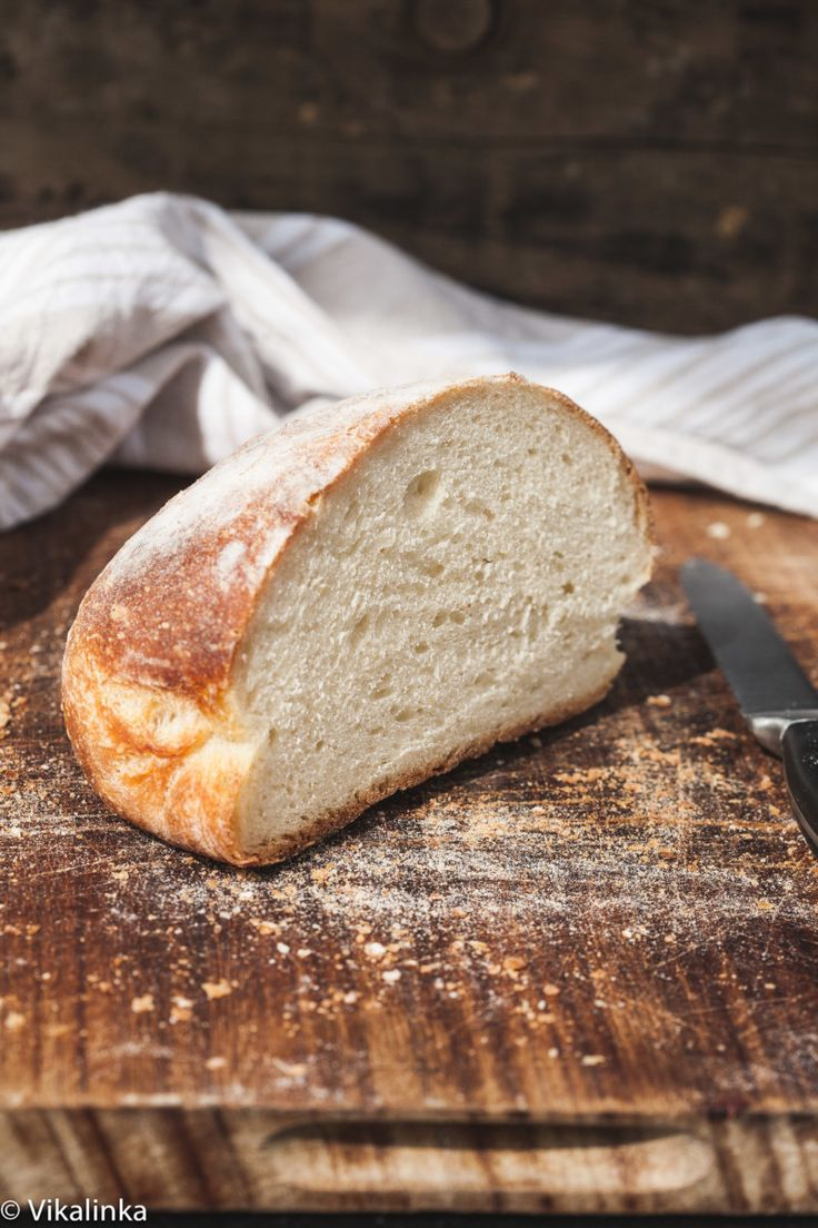 No knead farmhouse bread recipe