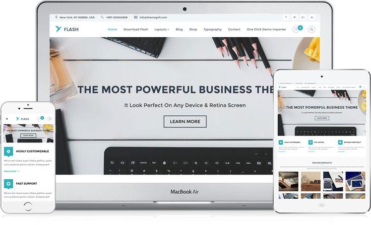 Flash – Tema Free WordPress Multiuso