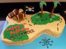 island pirate cake - Google Search
