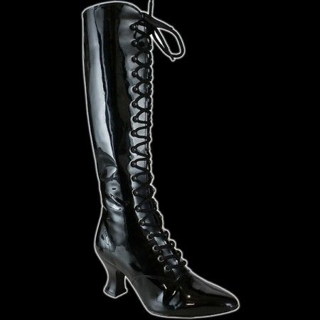 Lackstiefel Witchcraft