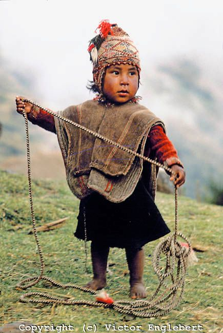 The Children of Peru. Andes Mountains. Cuzco province. Q'ero Indian boy. #kiwibemine #pinittowinit
