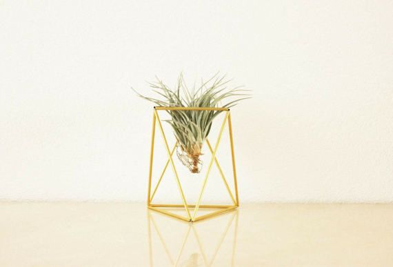 Himmeli TABLE: geometric table planter