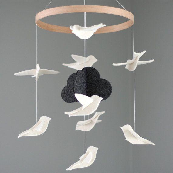 White Birds Mobile