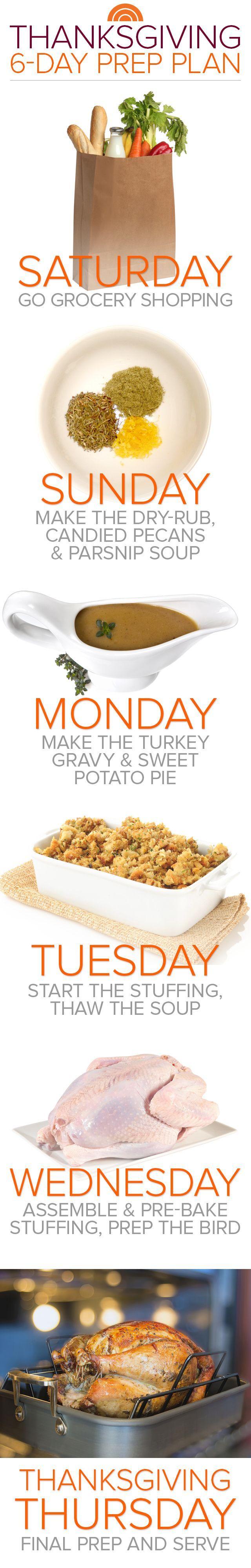 This make-ahead Thanksgiving menu makes the big day as easy as pie!