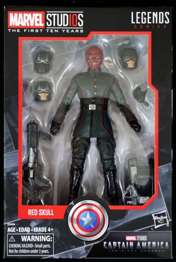 Red Skull Marvel Studios First 10 Years Legends Captain America Series