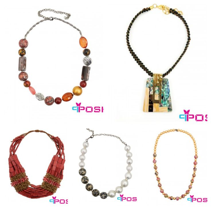 POSH Necklaces from vipfashion.ca Many different styles and designs #necklace #womensfashion #fashion #jewellery