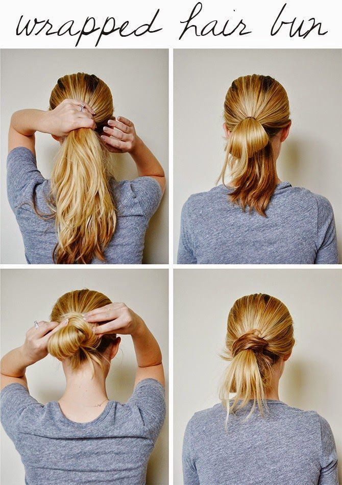 Little Lady Chignon - Fast Hairstyles