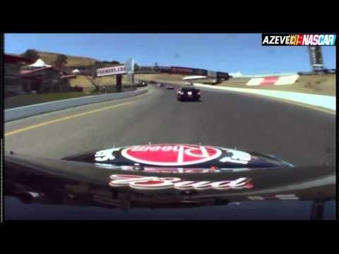 Nascar 2011 - Infineon Sonoma - Kevin Harvich On Board Cam - YouTube