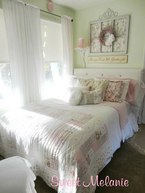 Another little girl 39 s bedroom sweet melanie shabby chic - Little girls shabby chic bedroom ...