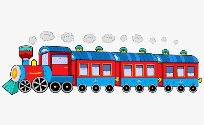 Cartoon Cute Old Steam Train Kartun Pendidikan Kereta
