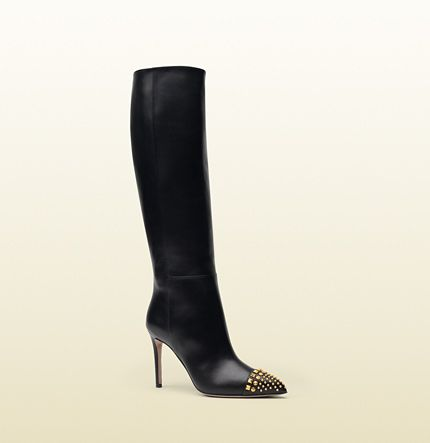 Gucci - bottes en cuir clouté 362315C9D001000
