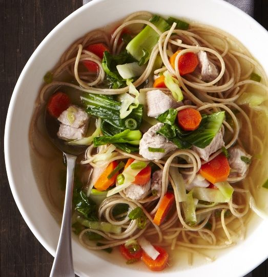The traditional Chinese New Year marks the beginning of the Lunar New Year and welcomes spring. Celebrate with our new take on Chinese New Year's Soup.