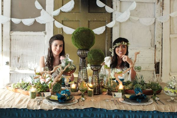 Eco- Friendly Wedding inspirational shoot